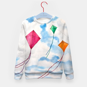 Thumbnail image of Kites Kid's Sweater, Live Heroes