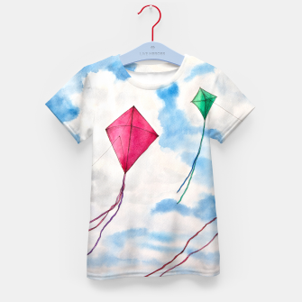 Thumbnail image of Kites Kid's T-shirt, Live Heroes