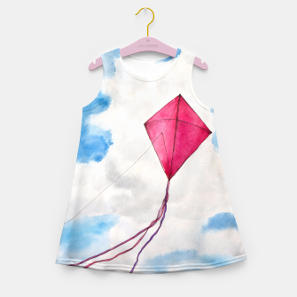 Miniaturka Kites Girl's Summer Dress, Live Heroes