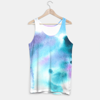 Thumbnail image of Turquoise watercolor vibes Tank Top, Live Heroes