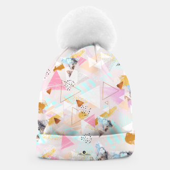 Thumbnail image of Abstract geometric textures and marble Gorro, Live Heroes
