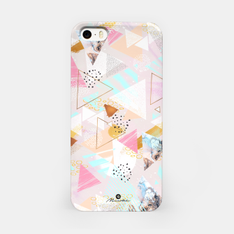 Thumbnail image of Abstract geometric textures and marble Carcasa por Iphone, Live Heroes