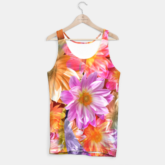 Thumbnail image of Pattern of colorful flowers Tank Top, Live Heroes