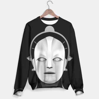 Thumbnail image of Maschinenmensch Sweater, Live Heroes