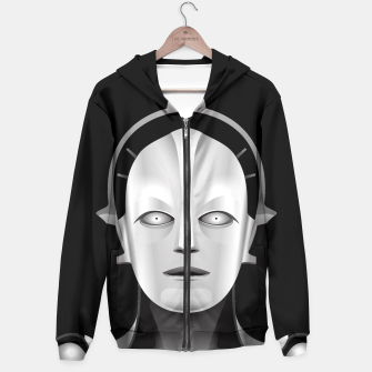 Thumbnail image of Maschinenmensch Hoodie, Live Heroes