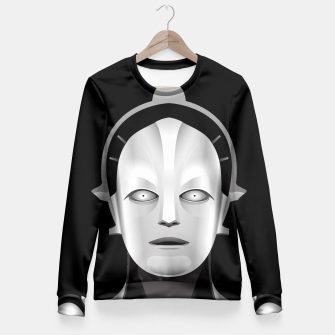 Thumbnail image of Maschinenmensch Fitted Waist Sweater, Live Heroes