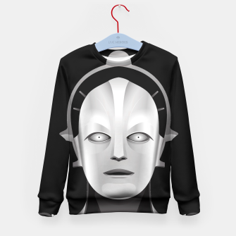 Thumbnail image of Maschinenmensch Kid's Sweater, Live Heroes