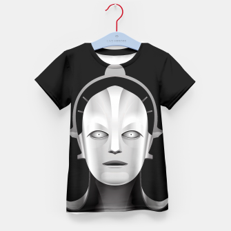 Thumbnail image of Maschinenmensch Kid's T-shirt, Live Heroes
