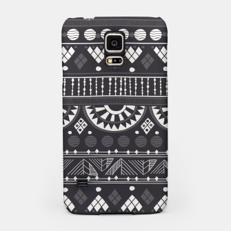 Thumbnail image of Black-White Ethno Pattern Handyhülle für Samsung, Live Heroes