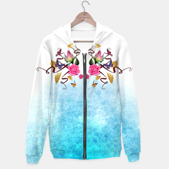Thumbnail image of Gold and roses men hoodie, Live Heroes
