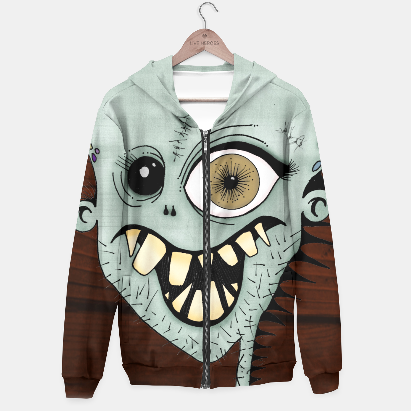 Image of Once Sudadera con capucha - Live Heroes