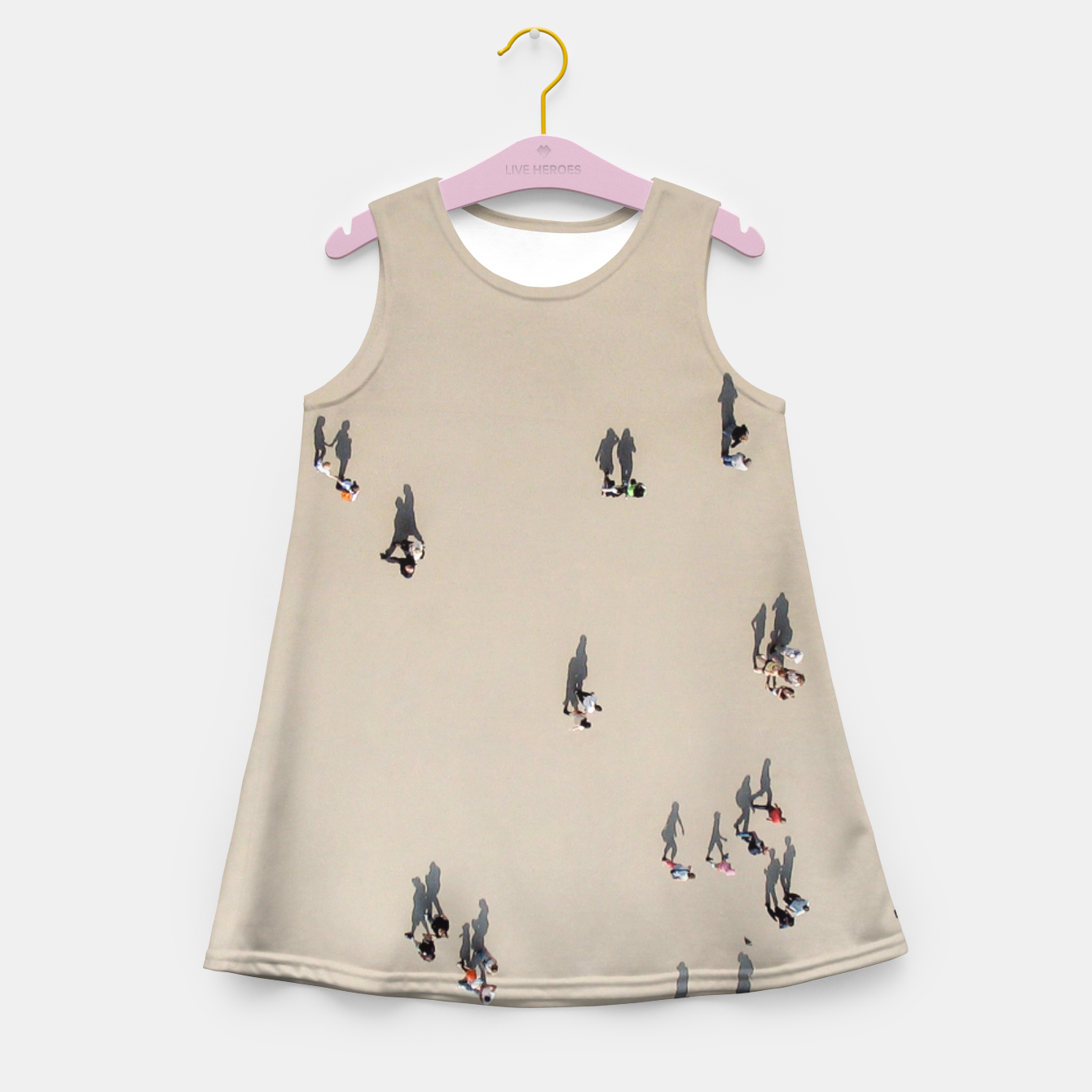 Zdjęcie Living shadows Girl's Summer Dress - Live Heroes