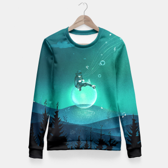 Thumbnail image of Comfortably Numb Taillierte Sweatshirt, Live Heroes