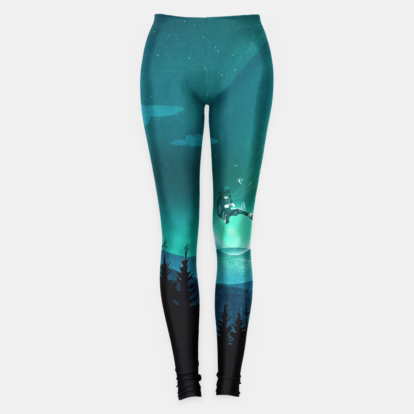 Image of Comfortably Numb Leggings - Live Heroes