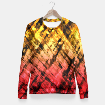Thumbnail image of Interwoven, Sunglow Fitted Waist Sweater, Live Heroes