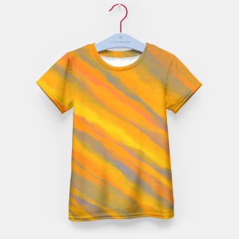 Thumbnail image of Canary Yellow Kid's T-shirt, Live Heroes