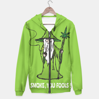 Thumbnail image of Ganjalf the Green  Hoodie, Live Heroes