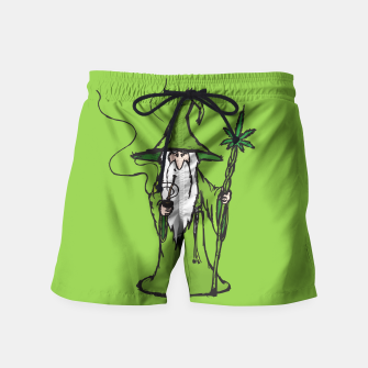 Thumbnail image of Ganjalf the Green  Swim Shorts, Live Heroes