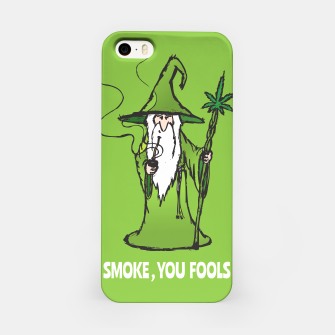 Thumbnail image of Ganjalf the Green  iPhone Case, Live Heroes
