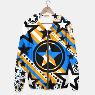 BLACK GOLD AND BLUE-STARS 2 Hoodie thumbnail image