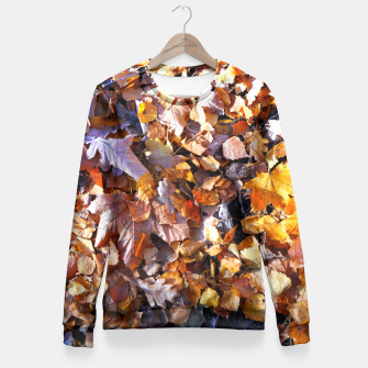 Miniaturka cOLOURS oF aUTUMN Fitted Waist Sweater, Live Heroes