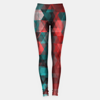 Thumbnail image of pixel green red Leggings, Live Heroes