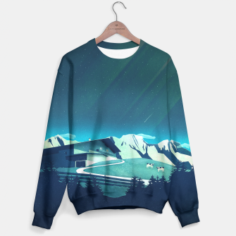 Thumbnail image of Alpine Hut Sweatshirt, Live Heroes