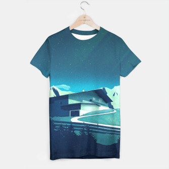 Thumbnail image of Alpine Hut T-Shirt, Live Heroes