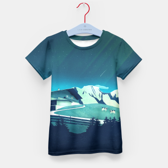 Alpine Hut T-Shirt für Kinder thumbnail image