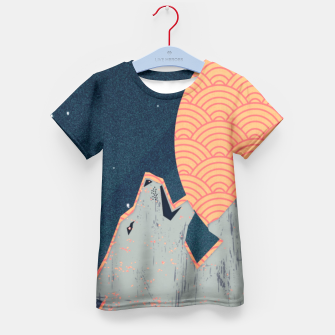 Howling Moon T-Shirt für Kinder thumbnail image