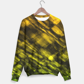 Rock Pool in Green and Gold Sweater thumbnail image