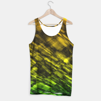 Thumbnail image of Rock Pool in Green and Gold Tank Top, Live Heroes