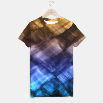 Thumbnail image of Rock Pool in Blue and Gold T-shirt, Live Heroes