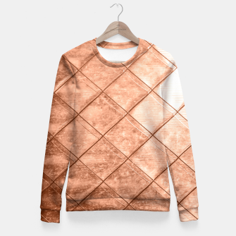 Thumbnail image of Rose Gold Crush Fitted Waist Sweater, Live Heroes
