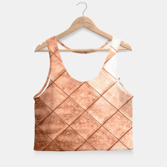 Thumbnail image of Rose Gold Crush Crop Top, Live Heroes