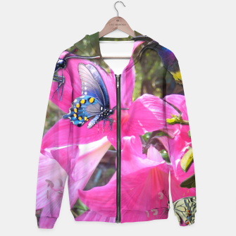 Thumbnail image of Amaryllis Party Hoodie, Live Heroes