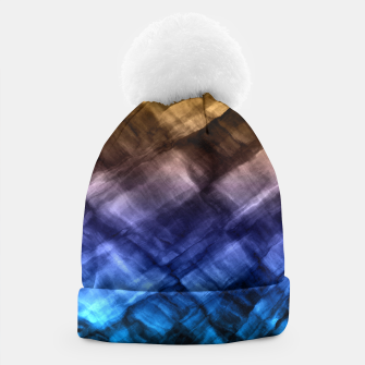 Thumbnail image of Rock Pool in Blue and Gold Beanie, Live Heroes