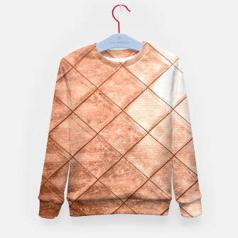 Thumbnail image of Rose Gold Crush Kid's Sweater, Live Heroes