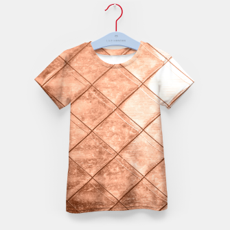 Thumbnail image of Rose Gold Crush Kid's T-shirt, Live Heroes
