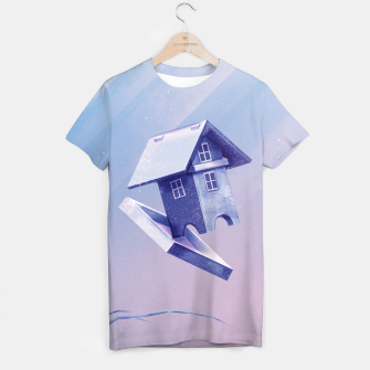 Thumbnail image of Freezing Bird...house T-Shirt, Live Heroes