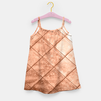 Thumbnail image of Rose Gold Crush Girl's Dress, Live Heroes