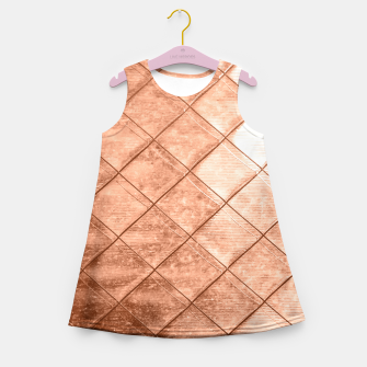Thumbnail image of Rose Gold Crush Girl's Summer Dress, Live Heroes