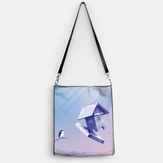Freezing Bird...house Handtasche thumbnail image