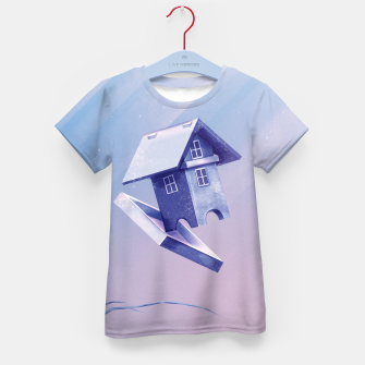 Miniatur Freezing Bird...house T-Shirt für Kinder, Live Heroes