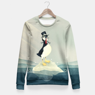 Miniatur Lord Puffin Taillierte Sweatshirt, Live Heroes