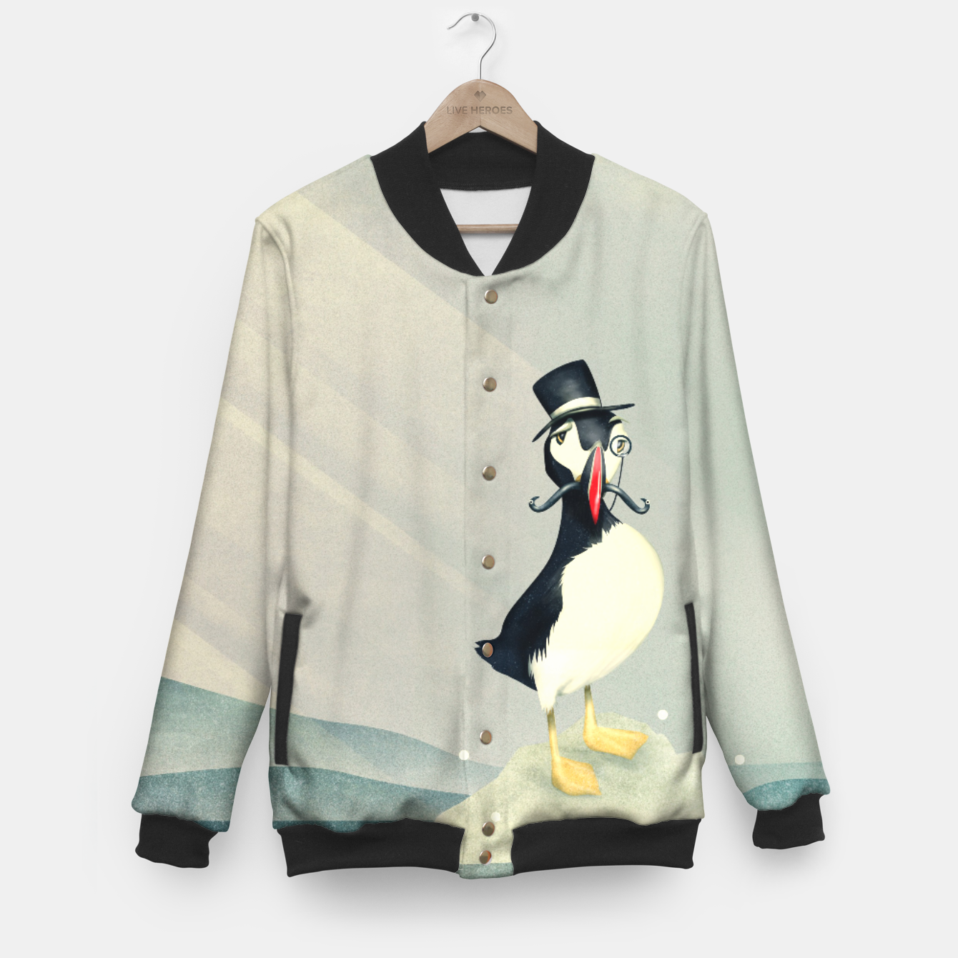 Image of Lord Puffin College-Jacke - Live Heroes