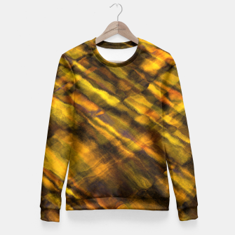 Thumbnail image of Rock Pool at Sunset Fitted Waist Sweater, Live Heroes