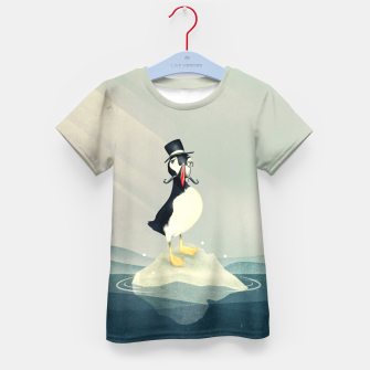 Thumbnail image of Lord Puffin T-Shirt für Kinder, Live Heroes