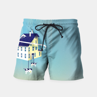 Miniatur Holy Cow Badeshorts, Live Heroes