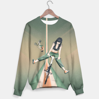Thumbnail image of Happy Joyride Sweatshirt, Live Heroes